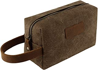 Camp Wash Bag Ba Cabin Overnight Baggage - Hand Luggage Travel Toiletry Hanging Toilet Vintage Bags for Outdoor Sports Gym Hiking Camping Zhhlaixing