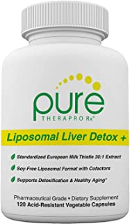 Liposomal Liver Detox + 120 Acid-Resistant VCaps | Soy-Free Liposomal Format Containing Methylation Nutrient Cofactors | S...