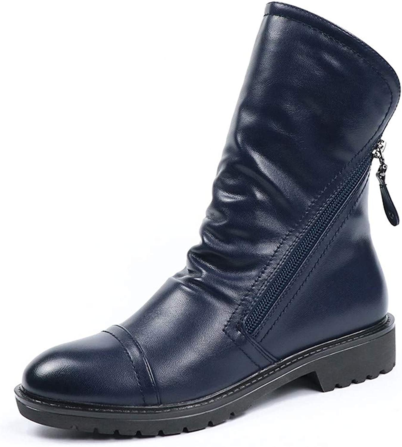Niliyou Ankle Boots Women Fashion Ankle Boots Soft Leather shoes Spring Autumn Comfortable