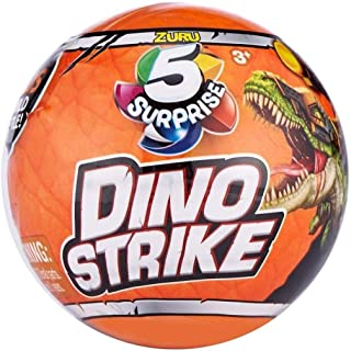 ZURU 5 Surprise Dino Strike Mystery Capsule Collectible Toy (2 Pack)
