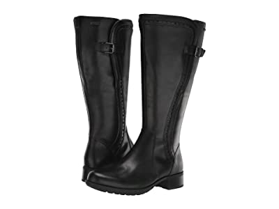 Rockport Copley Tall Wide Calf Waterproof Boot (Black) Women
