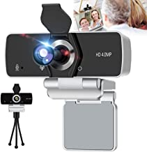IPXOZO 2K Webcam with Microphone,4MP HD Webcam USB Web Camera for Computer & Desktop,HD Web Cam Video Camera with Privacy ...
