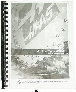 Haas Milling Machine Operators Manual