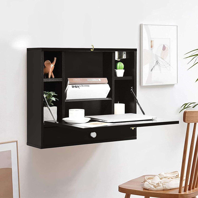 Sale JOSHUA Louisville-Jefferson County Mall Wall Mounted Computer Desk Cupboard Cabinet 2-in-1 Dress