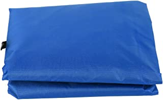 3-Seat Ultra-Lightweight Waterproof Swing Cover Chair Outdoor(Dark Blue (Supplier Specifications: Blue))