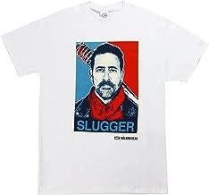 Changes The Walking Dead Negan Sluggers Men's White Shirt