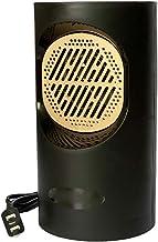 Lapden Mini Calentador eléctrico Ventilador de Escritorio del hogar práctico Estufa radiador Calentador del Calentador de la Estufa de la máquina del Calentador del Calentador del radiador,Negro