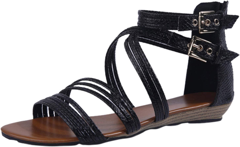 NEW before selling ☆ PLENTOP Women's Lace-Up Outstanding Tassel Sandals Shoes Toe Summer Bre Open