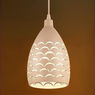 Suspension Luminaire Industrielle, Lovebay Rétro, LED Lustre Plafonnier E27, Lampe de Plafond pour Cuisine, Salon, Salle à...
