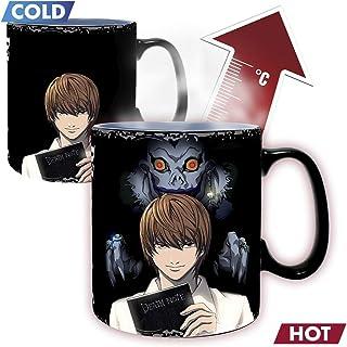 ABYstyle - Death Note - Taza cambia de color con calor - 460 ml - Kira & L