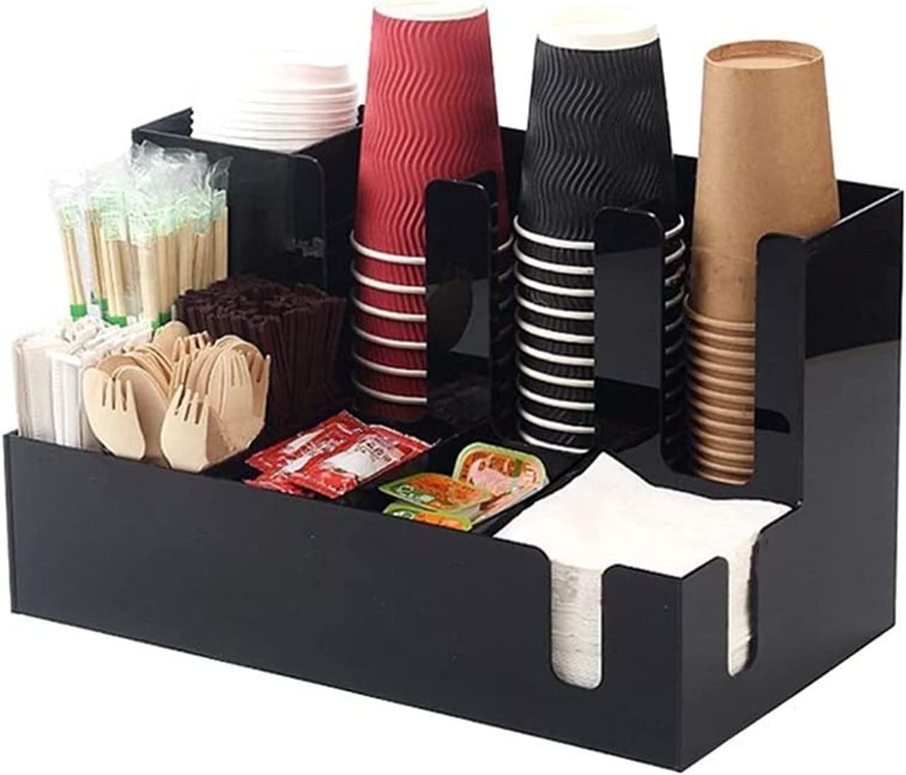 ZXNRTU Lightweight and Sale special price Durable Storage Coffee Cup Condiment 40% OFF Cheap Sale
