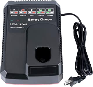 Batteriol 19.2V C3 Battery Charger for Craftsman 9.2V 19.2V Lithium-ion /& NI-CD Ni-MH Battery 11375 11376 130279005 315.PP2011 315.PP2010 Upgraded Dual Chemistry Charger