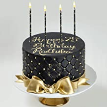 Blue Sparkler Cake Topper Party Cake Candle Birthday Anniversary 0-9