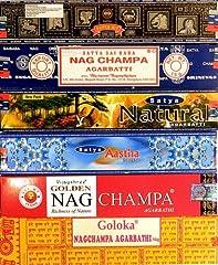12 Schachteln Nag Champa Varianten