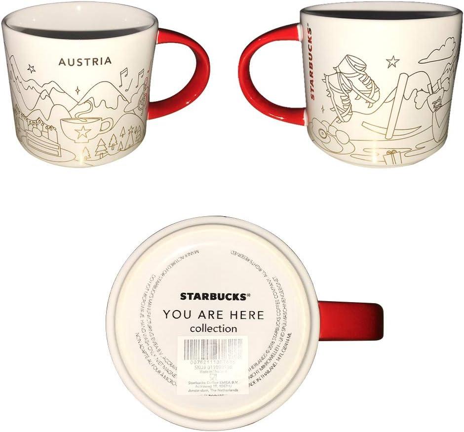 Starbucks Mug セール品 NEW ARRIVAL Austria XMAS You oz Here YAH Are 16