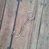 Fish Hook Keychain for the Country Fishing Girl or Boy Enthusiast