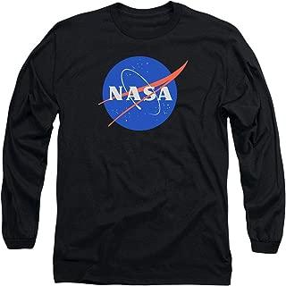 NASA Logo Space Longsleeve T Shirt & Stickers