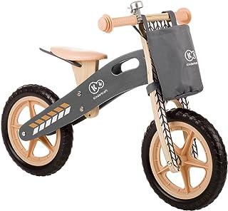 kk Kinderkraft löpning av trä löpare utbildning cykel barncykel löphjul för barn baby barncykel med bärhandtag väska för s...