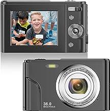 Digital Camera FHD 1080P Mini Video Camera 36MP Vlog...