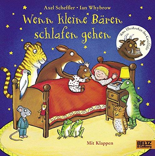 Wenn kleine Bären schlafen gehen: Pappbilderbuch mit Klappen (Beltz & Gelberg)