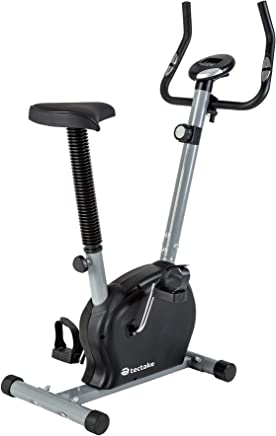 TecTake 401076 Velo d Appartement Elliptique, Ergometre Fitness Cardio, Gym avec Ordinateur LCD