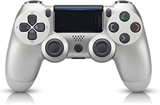 PS4 Controller, Wireless Gamepad for Playstation 4/Pro/Slim/PC(7/8/8.1/10) with Motion Motors and Audio Function Mini LED ...