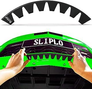 SLIPLO Universal Front Bumper Scrape Guard Skid Plate Bumper Protection for Lowered Car Spoilers, Carbon Fiber Splitters a...