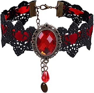 Best black and red choker Reviews