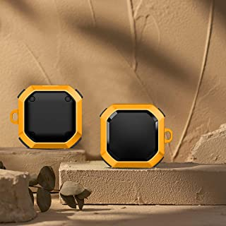 Trådlöst skydd för hörlurar, hård PC hörlurar med stötsäker och droppsäker design för trådlösa hörlurar låda för Samsung G...