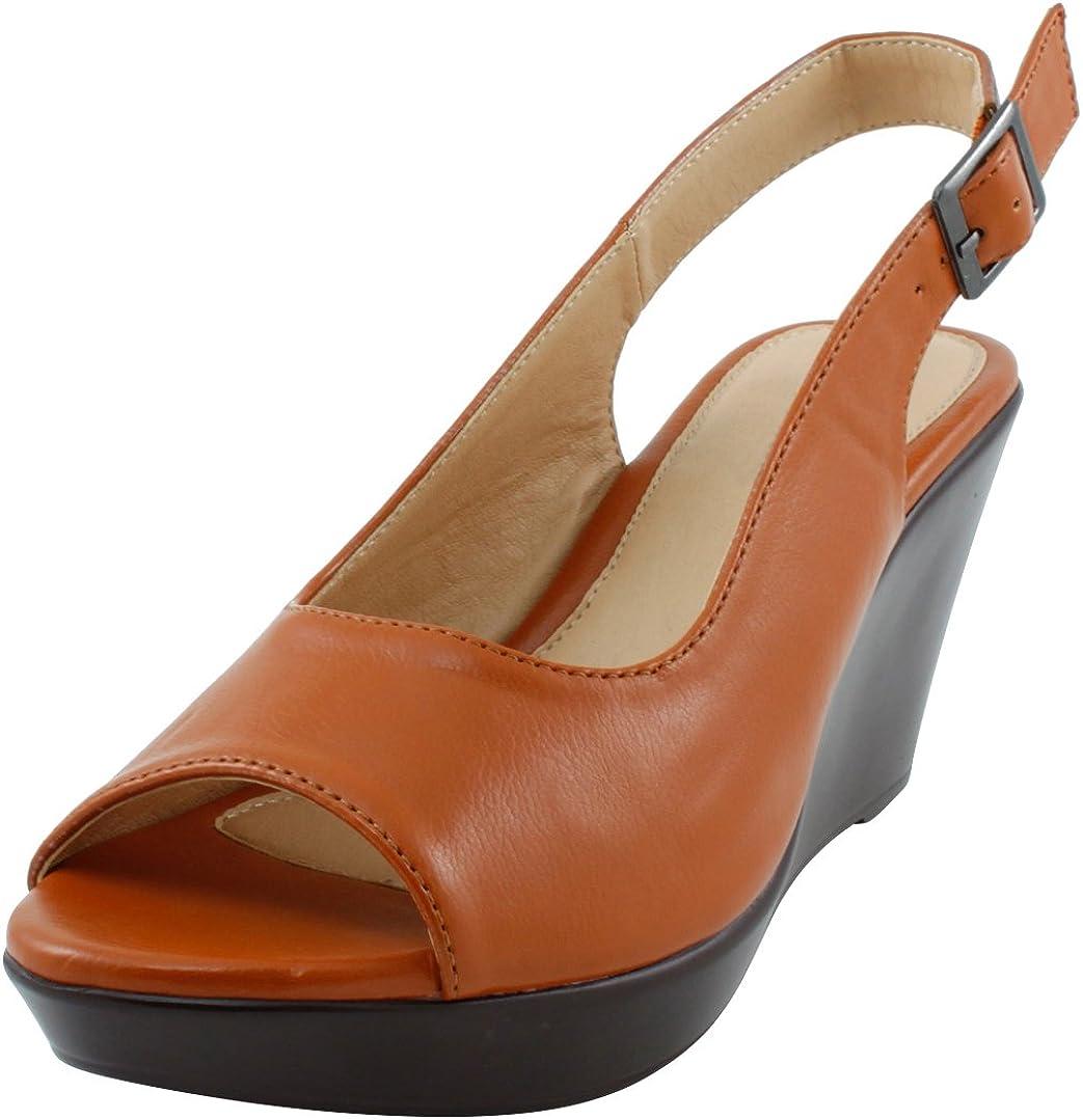 Discount mail order Arlington Mall Cambridge Select Women's Peep Toe Slingback Wedge Sanda Platform