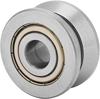 Pangding Ball Bearing, 124120mm V Groove Track Roller Guide Sealed Balls Bearing LV201ZZ