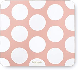 Kate Spade New York Polka Dot Leatherette Mouse Pad, 9
