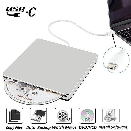 NOLYTH External DVD CD Drive USB C Superdrive External DVD/CD +/-RW