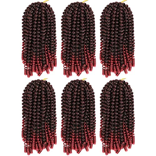 Spring Twist Hair Crochet Braids 8