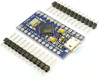 HiLetgo Leonardo Pro Micro ATmega32U4 5V/16MHz ブートローダ マイクロ USB Pro mini Arduinoに対応 [並行輸入品]