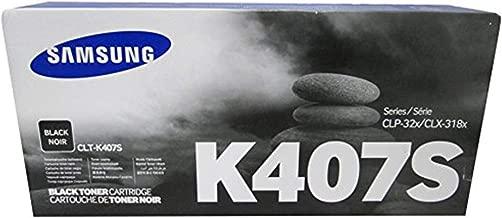 Samsung Black Toner Cartridge for CLP-325W and CLX-3185FW (CLT-K407S)