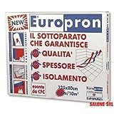 Europron Pannelli Isolanti da 4 mm 80x125 cm - Confezione da 10 Pannelli- 10 mq