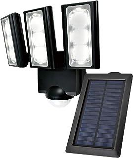 ELPA エルパ ソーラー式 センサーライト 3灯 安心の防水仕様 広範囲照射可能 フラッシュ・赤点滅機能搭載 太陽光だから省エネ 電気代不要 ESL-313SL