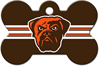 Pet Care Preferred Cleveland Browns Bone ID Tag