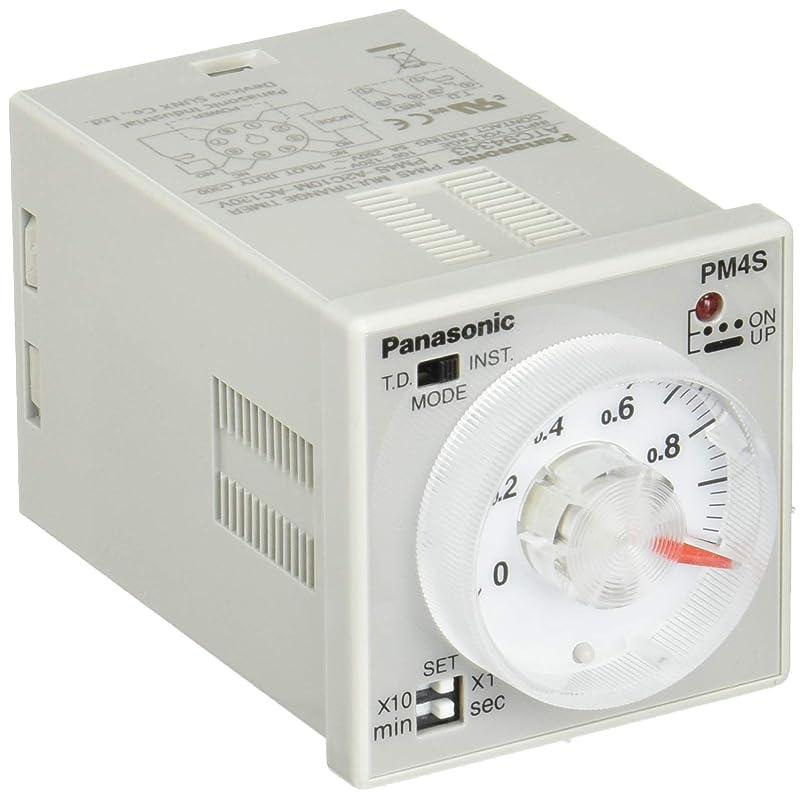 ドライブ通常南アメリカパナソニック PM4Sマルチレンジタイマ AC100-120V PM4S-A2C10M-AC120V ATC94343