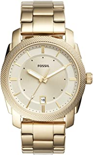Men's FS5264 Machine Three-Hand Date Gold-Tone Stainless Steel Watch