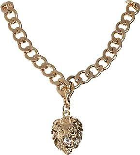 Urban Classics Lion Basic Necklace Gemelli Unisex-Adulto