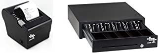 EOM-POS Heavy Duty Cash Register Drawer + Thermal Receipt Printer NOT for Square OR Clover