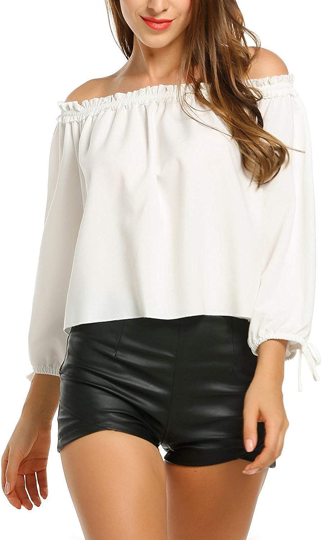 Camisas Mujer Primavera Sólido Color Otoño Blusas Elegante ...