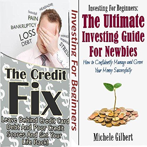 The Money Box Set: The Credit Fix and Investments for Newbies audiobook cover art
