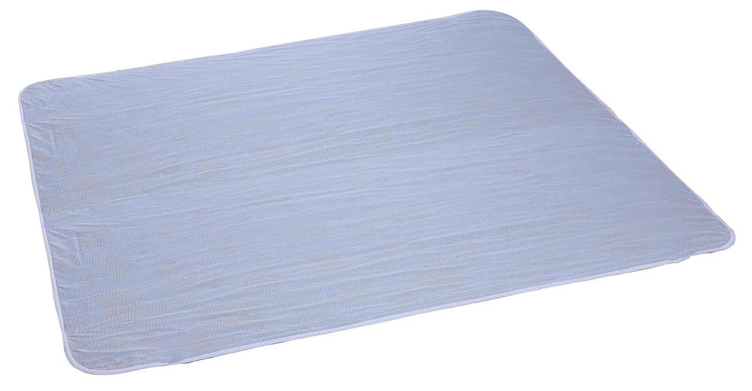 汚れた感謝する西クールでドライな清涼敷きパッド WAYOベルト仕様 ダブル