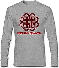 LSLEEVE Men's Breaking Benjamin Logo Long Sleeve T-Shirt