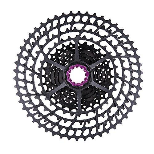 Lixada MTB 10/11 Speed Cassette 11-50T Amplia Relación Ultra Luz 350g CNC Rueda Libre Bicicleta de Montaña Piezas