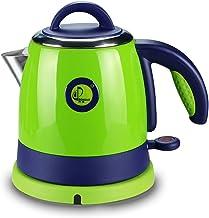 IAIZI Mini waterkoker 0,8 l capaciteit kleine waterkoker 304 roestvrij staal reizen draagbaar (kleur: groen)