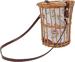 TOPBATHY Wicker Basket Flower Basket Gift Baskets Empty Woven Picnic Basket Easter Candy Basket Storage Basket Egg Gatheri...